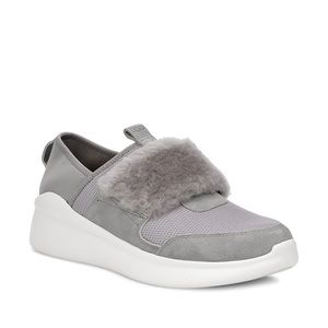 Ugg pico sneaker with fur